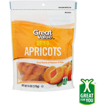 Great Value Dried Apricots