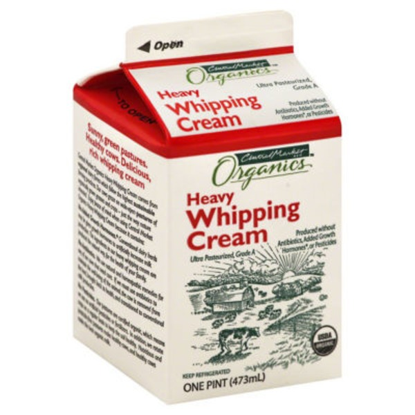 Central Market Organic Heavy Whipping Cream