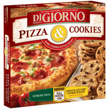 Digiorno Supreme Pizza & Nestle Toll House Chocolate Chip Cookie Dough