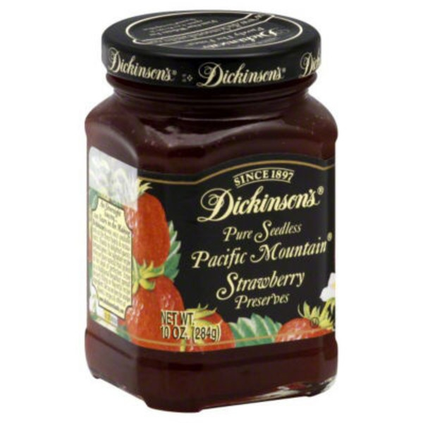 T.N. Dickinson's Pure Seedless Pacific Mountain Strawberry Preserves