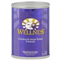 Wellness Chicken & Sweet Potato Formula, Natural Food for Dogs