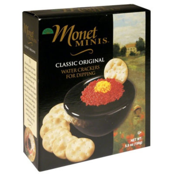 Monet Crackers, Water, Mini Original