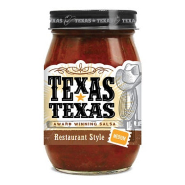 Texas-Texas Salsa, Restaurant Style, Medium