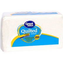 Great Value Quilted Napkins