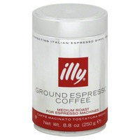 Illy Ground Espresso Coffee Medium Roast