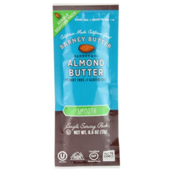 Barney Butter Almond Butter 90 Cal Packs
