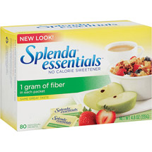 Splenda One Gram of Fiber Per Packet Sweetner