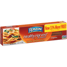 Ronzoni Healthy Harvest 100% Whole Grain Linguine Pasta