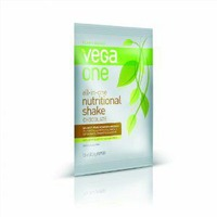Vega One Plant-Based Chocolate Flavor Nutritional Shake Drink Mix