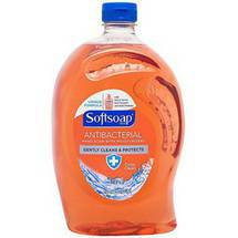 Softsoap Liquid Hand Soap Refill Antibacterial Crisp Clean 56 Fluid Ounce