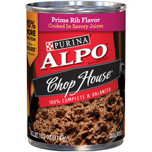 Alpo Wet Chop House Originals Ribeye Flavor Dog Food