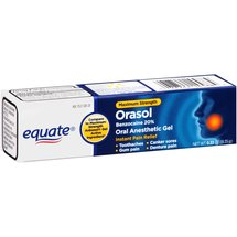 Equate Orasol Oral Anasthetic Gel