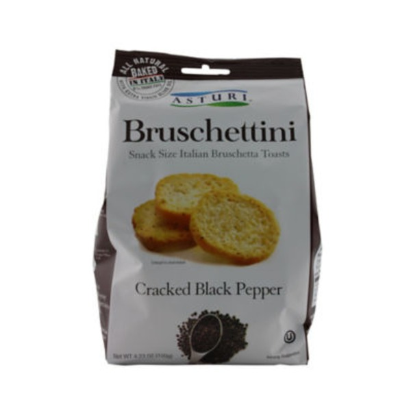 Asturi Cracked Black Pepper Bruschettini