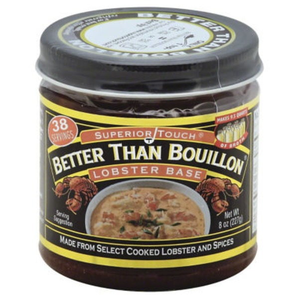 Better Than Bouillon Superior Touch Lobster Base