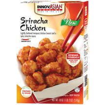 InnovAsian Cuisine Sriracha Chicken Frozen Dinner