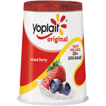 Yoplait Original Mixed Berry Yogurt