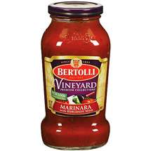 Bertollia Marinara With Burgundy Wine Pasta Sauce