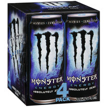 Monster Energy Absolutely Zero Energy Supplement