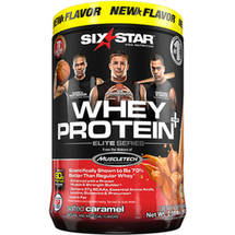 Six Star Whey Protein Plus Salted Caramel Dietary Supplement
