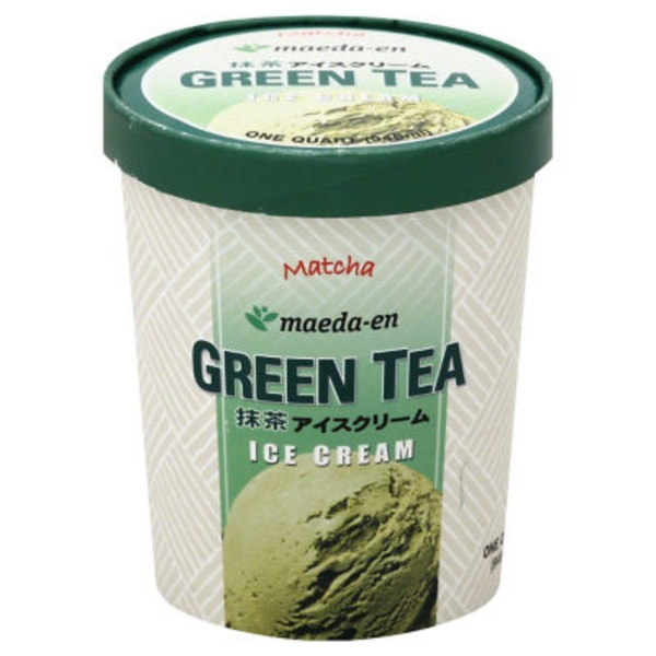 Maeda En Ice Cream, Green Tea