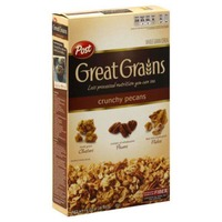Post Great Grains Crunchy Pecans Whole Grain Cereal