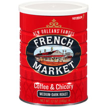 French Market Medium-Dark Roast Ground Chicory & Coffee