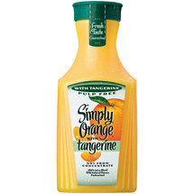 Simply Orange Pulp Free Orange Juice with Tangerine