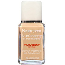 Neutrogena Skinclearing Oil-Free Makeup Natural Ivory 20