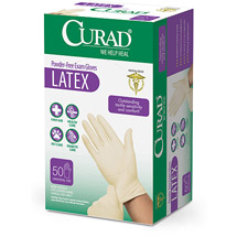 Medline Curad Latex Exam Glove