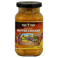 Tiger Tiger Punjabi Style Butter Chicken Cooking Sauce For Chicken