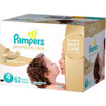 Pampers Premium Care Disposable Diapers Super Pack Size 4