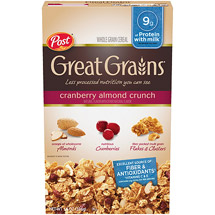 Great Grains Cranberry Almond Crunch Cereal