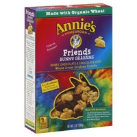 Annie's Homegrown Organic Friends Honey, Chocolate and Chocolate Chip Bunny Grahams Baked Graham Snacks