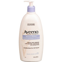 Aveeno Active Naturals Stress Relief Body Moisturizing Lotion -