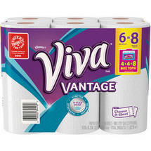 Viva Vantage Choose-a Size Paper Towels Big Rolls