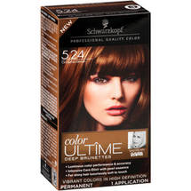 Schwarzkopf Color Ultime Deep Brunettes Hair Coloring Kit 5.24 Cinnamon Brown