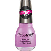 SinfulColors SinfulShine Step 1 Color Nail Color Pragmatic