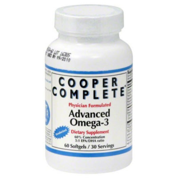 Cooper Complete Advanced Omega-3 Softgels