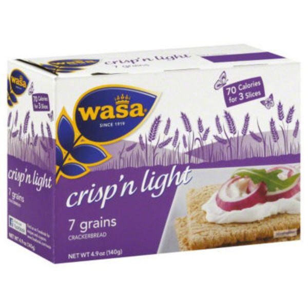 Wasa Crisp'n Light 7 Grains Crackerbread
