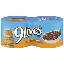 9 Lives Tuna Select Flakes Of Real Tuna & Egg Bits Cat Food