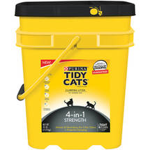 Tidy Cats Clumping Litter 4-in-1 Strength for Multiple Cats