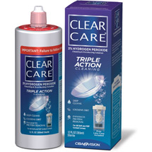 Clear Care Cleaning & Disinfecting Solution No Rub