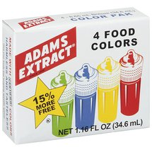 Adams Extract Color Pack Baking Supply