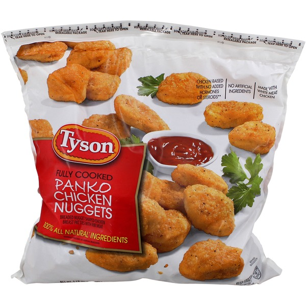 Tyson Fully Cooked White Meat Chicken Nuggets