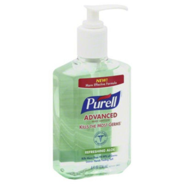 Purell Advanced Hand Sanitizer Refreshing Aloe