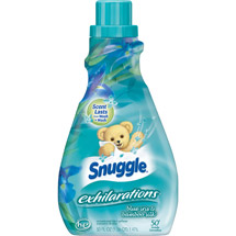 Snuggle Exhilarations Silk Liquid Fabric Softener Blue Iris & Bamboo
