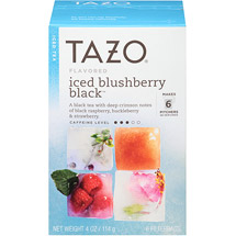 Tazo Iced Blushberry Black Tea Filterbags
