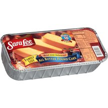 Sara Lee All Butter Pound Family Size Cake