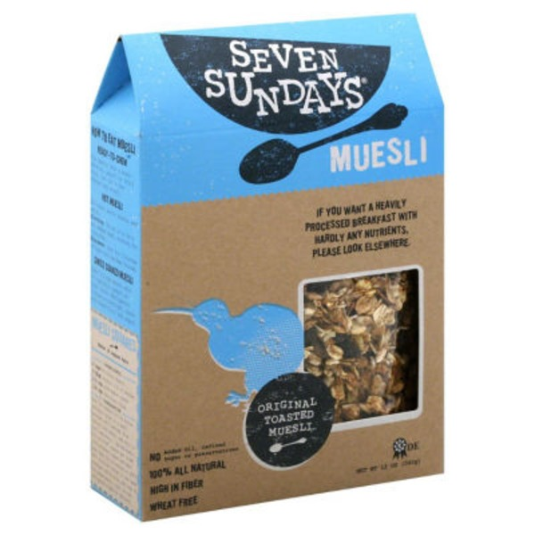Seven Sundays Original Toasted Muesli