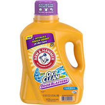 Arm & Hammer Plus OxiClean Stain Fighters Fresh Burst Liquid Laundry Detergent